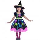 Child Costume Spider Witch 3-4 years