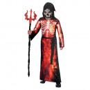 wholesale Costumes: Teenage costume fire grim reaper age 12-14 years