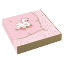 16 napkins Princess for a day 33 x 33 cm