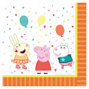 16 napkins Peppa Pig 33 x 33 cm