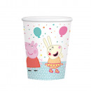 8 cups Peppa Pig 250 ml paper