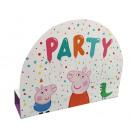 8 invitation cards & envelopes Peppa Pig paper