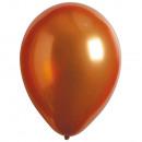 Decorador de 100 globos de látex satén Satén dorad