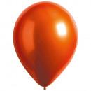 Decorador de 100 globos de látex satén Ámbar Luxe