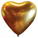 50 globos de látex decorador corazón satén Luxe Go