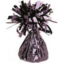 Balloon Weight Foil black 170 g / 6 oz