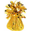Großhandel Partyartikel: Ballongewicht Folie gold 170 g/6 oz