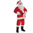 Férfi jelmez Santa póló méret S / M