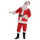 Férfi jelmez Santa klasszikus méretű L / XL