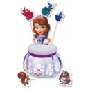 wholesale Home & Living: Cake stand with decoration Sofia the first