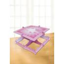 Kuchenständer Christening Booties - Pink