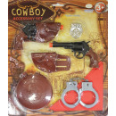 Children role-playing accessory set Cowboy 3 - 6 y