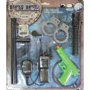 Kinder-Rollenspielzubehörset Polizei Alter 3 - 6 J