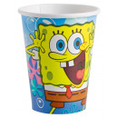 8 cups Spongebob 266 ml