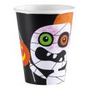 8 cups Halloween Kids 266 ml