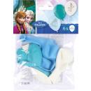 6 latex balloons frozen 22,8 cm / 9 '