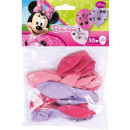 wholesale Party Items: 10 latex balloons Minnie mouse 25.4 cm