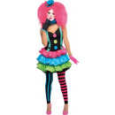 Child Costume Kool Clown 12 - 14 years