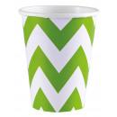 8 csésze Kiwi Chevron 266 ml