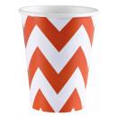 8 csésze Orange Peel Chevron 266 ml