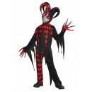 Children's Costume Krazed Jester 12 - 14 years