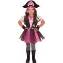 Child Costume Dazzling Pirate 3 - 4 years