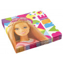 20 napkins Barbie Sparkle 33 cm
