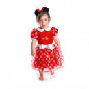 grossiste Vetements enfant et bebe: Minnie Enfant Minnie robe rouge 6-12 mois