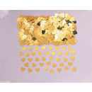 Confetti Sparkle Hearts arany 14 g