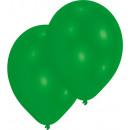 50 latex ballon standard zöld 25.4 cm / 10 '