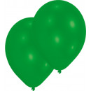 50 latex ballon standard zöld 27,5 cm / 11 '