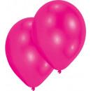 50 latex balloons standard hot pink 27.5 cm / 11 &