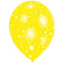 6 latex ballonnen sterren bol 27,5 cm / 11 '