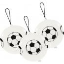 mayorista Regalos y papeleria: 3 globos de látex Punch Balls fútbol