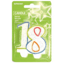 Number candle 18