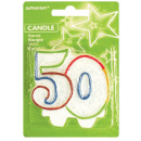 Number candle 50