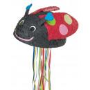 Pull Pinata ladybug