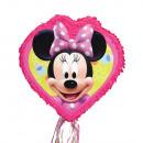 Großhandel Partyartikel: Pull-Pinata Minnie Mouse 2D