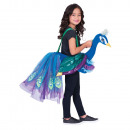 Child costume peacock for riding 3-8 years