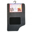 Car mat 4 pieces universal