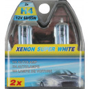 Car light h4 12 volt 60/55 watt xenon super white