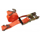 Ratchet tie down complete 5 meters / 3 ton