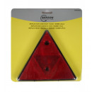 Reflector triangle 15.5 cm red 2 pieces e-mark