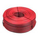 nagyker Elektronikai termékek: Hangszóró kábel 2 x 0,75 piros / fekete