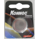 wholesale Batteries & Accumulators: Battery button  cell lithium cr 2032 konnoc