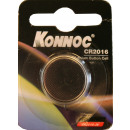 Battery button cell lithium cr 2016 konnoc