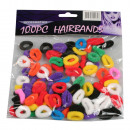 Hair bands 100 pieces