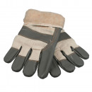 Rigger gloves winter with fur