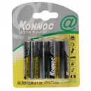 Battery penlite 4 pieces r6p aa konnoc