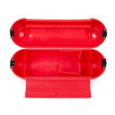 Plug safe/safety box red